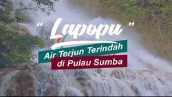 Lapopu, Air Terjun Terindah di Pulau Sumba