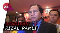 Rupiah Melemah, Rizal Ramli Kritik Pemerintah