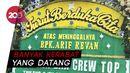 Suasana Rumah Duka Arief Rivan