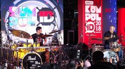 Drum Battle Menteri Basuki Vs Gilang Ramadhan, Bikin Heboh!
