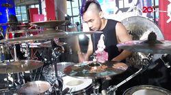 Duet Ikmal Tobing-Angels Percussion, Bikin Merinding!