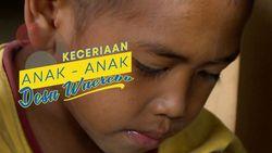 Keceriaan Anak-anak Desa Wae Rebo