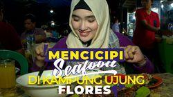 Wisata Kuliner Seafood di Kampung Ujung Flores