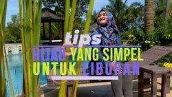 Saat Liburan, Gunakan Hijab Simple
