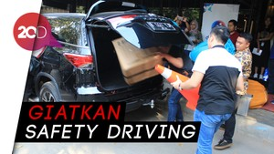Coaching Clinic Toyota Fortuner, Pahami Safety Driving