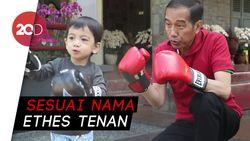 Olahraga Bareng Jokowi, Netizen Meleleh Sama Jan Ethes