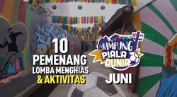 10 Kampung Piala Dunia Periode Juni