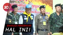 Korban Gua Thailand Selamat, Selebriti Dunia Bersuka Cita