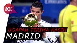 Mengenang 9 Tahun CR7 di Real Madrid