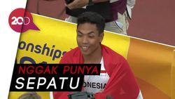 Cerita Haru Zohri, Juara Dunia Lari yang Latihan Tak Beralas Kaki