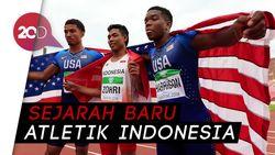Top! Sprinter Indonesia Juara Dunia Atletik U-20