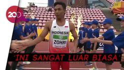 Ungkapan Bangga Zohri Amazing Jadi Juara Dunia Atletik U-20