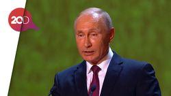 Putin: Saya Tak Rela Ucapkan Selamat Tinggal Piala Dunia