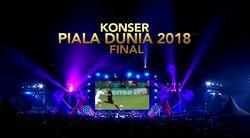 Saksikan Konser Final Piala Dunia 2018 Malam Ini!