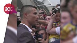 Momen Kedatangan Cristiano Ronaldo di Turin