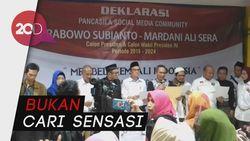 Cyber Army-Solusi UI Deklarasi Dukung Prabowo-Mardani Untuk Maju di Pilpres 2019