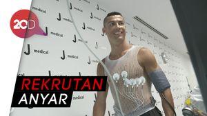 Saat Ronaldo Jalani Tes Medis di Juventus