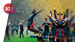 Serunya Selebrasi Para Pemain Prancis!