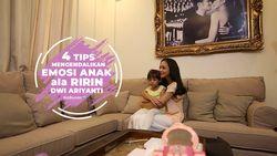 4 Langkah Kendalikan Emosi Anak Ala Ririn Dwi Ariyanti