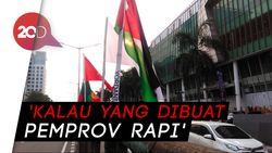 Bendera Asian Games Diikat Bambu, Sandi: Partisipasi Masyarakat