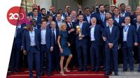 Puluhan Ribu Warga Prancis Sambut Kepulangan Les Bleus