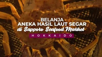 Wow! Ada King Crab di Sapporo Seafood Market