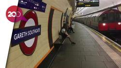 Gareth Southgate Jadi Nama Stasiun Kereta Inggris