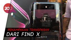 Begini Cara Oppo Find X Keluarkan Kamera Tersembunyi