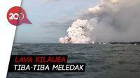 Bom Lava Hantam Kapal di Hawaii, 23 Orang jadi Korban