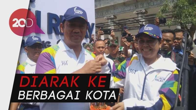 Dari Api Abadi Mrapen, Obor Asian Games Mulai Diarak