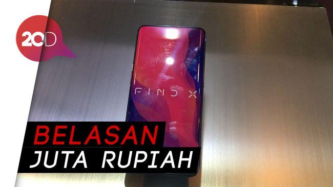 Mendarat di Indonesia, Ini Harga Oppo Find X