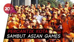 Pemprov DKI Gerebek Sudirman-Thamrin Jelang Asian Games