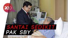 Pesan Prabowo saat Jenguk SBY: Bapak Bukan Komandan Batalion Lagi