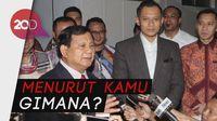 Prabowo Minta Penilaian, Pantaskah dengan AHY?
