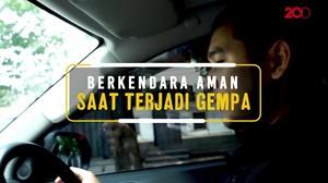 Tips Berkendara Aman Saat Bencana Gempa