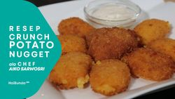 Resep Crunch Potato Nugget ala Chef Aiko Sarwosri