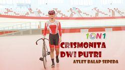 Dulu Tak Suka Bersepeda, Kini Crismonita Jadi Andalan Indonesia