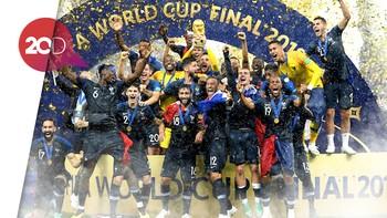 Resep Deschamps Buat Prancis Menang di Final Terungkap!