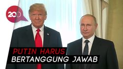 Trump Kini Akui intervensi Rusia di PIlpres 2016