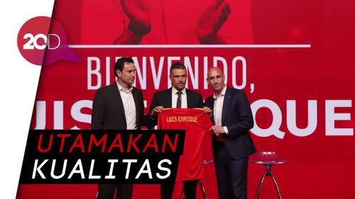 Di Bawah Enrique, Spanyol Terbuka untuk Pemain Tua