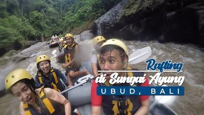Serunya Rafting Di Sungai Ayung, Ubud Bali