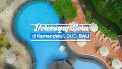 Berenang Seru di Kamandalu Ubud Bali