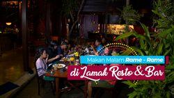 Makan Bersama di Lamak Resto & Bar