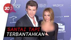 Digosipkan Retak, Begini Cara Miley Cyrus dan Liam Hemsworth Menjawabnya