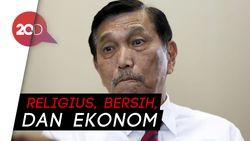 Luhut Bicara Soal Cawapres Jokowi