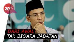 TGB Tak Ambil Pusing Jika Tak Jadi Pendamping Jokowi