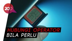 Tips Hindari Kartu SIM Agar Tak Dikloning