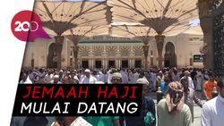 Jemaah Mulai Serbu Masjid Nabawi