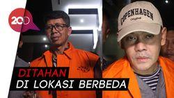 Wahid Husen dan Fahmi Darmawansyah Ditahan
