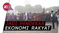 4.000 Jawara Silat Betawi Berkumpul di Monas